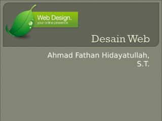 01-Desain Web.ppt