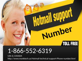 1-866-552-6319 Hotmail tech support number 4.pptx