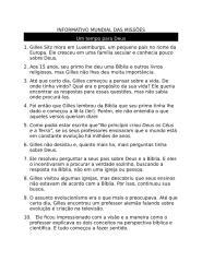 Informativo Mundial das Missões - 22 05 10 - Texto.doc