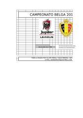 Campeonato Belga 2017 - 2018.xls