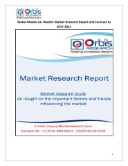 Global Mobile Car Washer Market Research Report and Forecast to 2017-2021.pdf