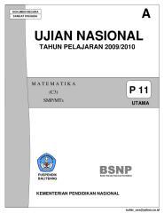 Ujian Nasional SMP 2009-2010 (A).pdf