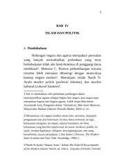 BAB IV (ISLAM DAN POLITIK).rtf