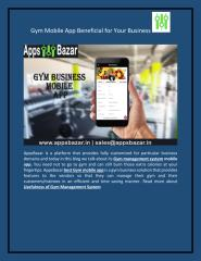 Gym Mobile App Beneficial for Your Business .pdf