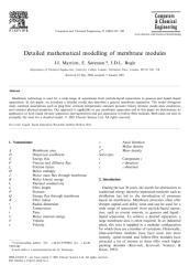 Detailed mathematical modelling of membrane modules.pdf