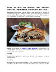 Warm Up with the Hottest Cold Weather Drinks at Ling & Louie's Asian Bar and Grill.pdf