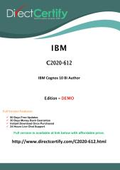 C2020-612 Free  Dump Download (PDF).pdf