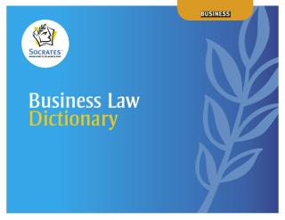 Business Law Dictionary.pdf