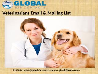 Veterinarians Email & Mailing List (1).pptx