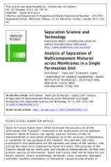 Analysis of Separation of.pdf