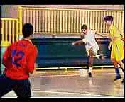 Futsal- Duas Jogadas Ensaiadas de Tiro Livre.3gp