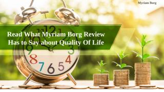 Read What Myriam Borg Review Has to Say about Quality Of Life.pptx