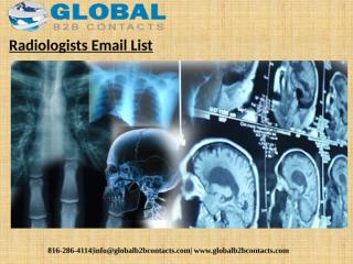 Radiologists Email List (1).pptx