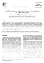 Modeling, simulation and optimization of membrane-based gas separation systems.pdf
