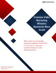 Common Video Marketing Mistakes Businesses Must Avoid.pdf