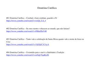 Doutrina Católica - Série - Atualização 01.pdf