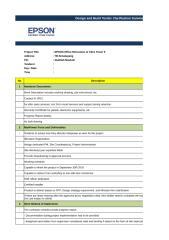 Design & Build Tender Clarification Summary.xlsx
