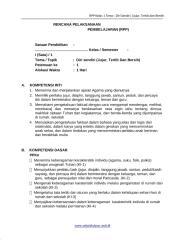 [1] RPP SD KELAS 1 SEMESTER 1 - Diri Sendiri  Jujur Tertib dan Bersih www.sekolahdasar.web.id-1.docx