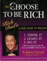 Getting Rich- You Can Choose to be rich -Robert Kiyosaki.pdf
