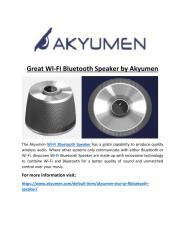 Great_WI-FI_Bluetooth_Speaker_by_Akyumen.PDF