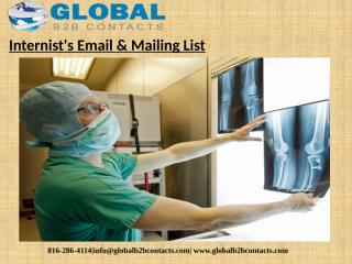Internist's Email & Mailing List (1).pptx