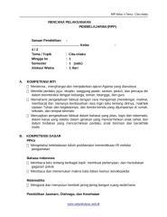 [7] RPP SD KELAS 4 SEMESTER 2 - Cita-Citaku www.sekolahdasar.web.id-1.docx