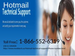 1-866-552-6319 Hotmail tech support number 3.pptx
