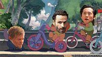 Rick Michonne Bike Stealers Kids Funny tumblr mzi